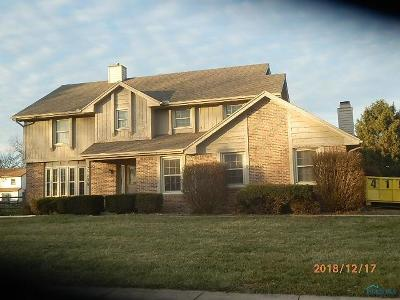 Maumee Single Family Home For Sale: 6208 Wexford Court