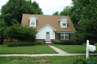 Maumee Single Family Home Contingent: 417 Harris Court
