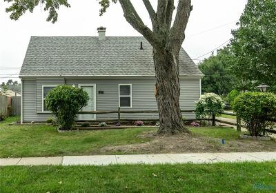 Maumee Single Family Home Contingent: 1277 Kirk Street