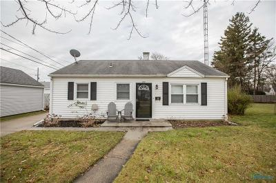 Maumee Single Family Home For Sale: 1101 Shelly Avenue