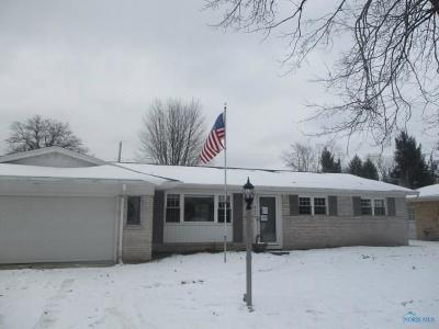 Toledo OH Single Family Home For Sale: $127,000