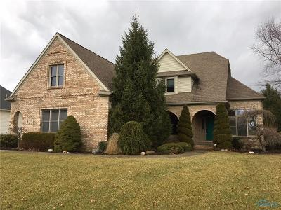 Perrysburg Single Family Home For Sale: 595 Prairie Rose Drive