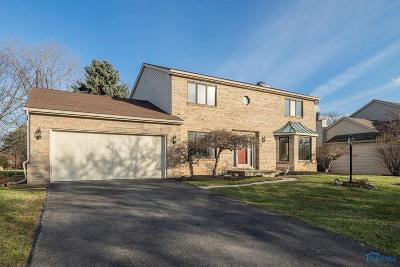 Sylvania Single Family Home Contingent: 5834 Eaglewood Drive