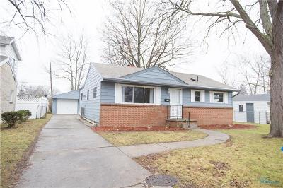 Maumee Single Family Home Contingent: 1239 Rosedale Street