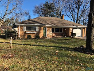 Maumee OH Single Family Home For Sale: $149,900