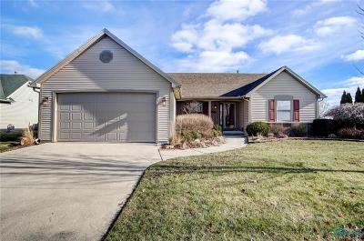 Perrysburg Single Family Home Contingent: 1545 Horseshoe Bend Drive