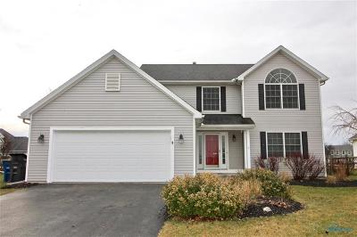 Perrysburg Single Family Home For Sale: 1761 Horseshoe Bend Drive