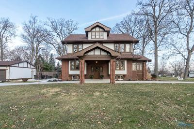 Toledo Single Family Home For Sale: 3456 River Road