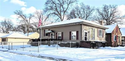 Toledo OH Single Family Home For Sale: $114,900