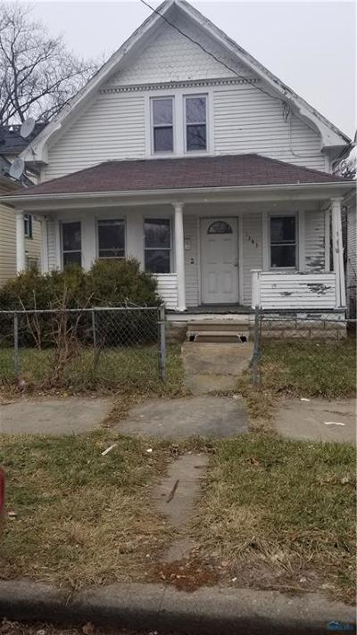 Toledo Single Family Home For Sale: 1343 Moore Street