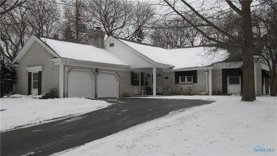 Toledo Single Family Home Contingent: 1730 Fallbrook Road