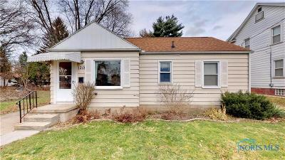 Toledo OH Single Family Home For Sale: $72,900