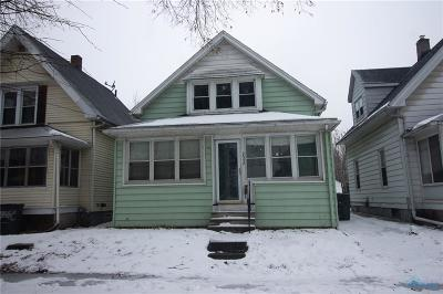 Toledo OH Single Family Home For Sale: $36,000