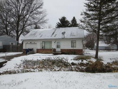Toledo OH Single Family Home For Sale: $24,900