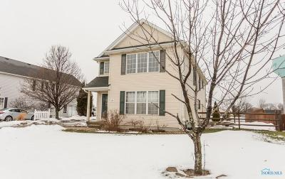 Perrysburg Single Family Home For Sale: 868 Wood Sorrel Lane