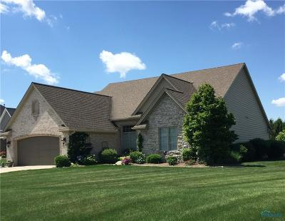 Maumee Single Family Home For Sale: 4154 Deer Run Court