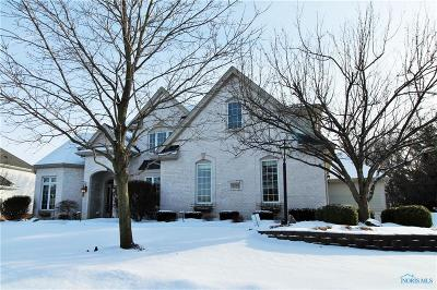 Perrysburg Single Family Home Contingent: 14599 Deerwood Court