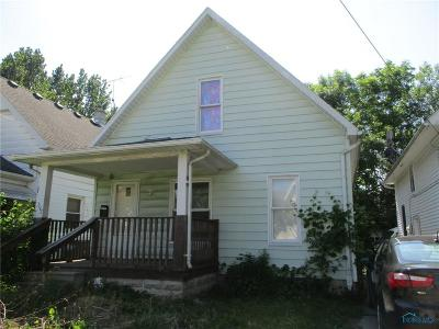 Toledo OH Single Family Home For Sale: $16,900