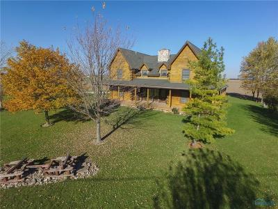 Perrysburg Single Family Home For Sale: 24540 Ault Road