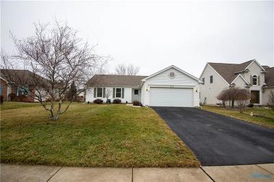 Perrysburg Single Family Home Contingent: 10240 White Oak Drive
