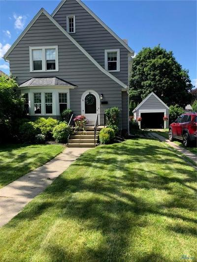 Maumee Single Family Home For Sale: 219 W Dudley Street