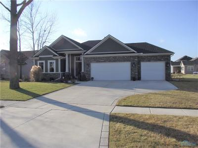 Maumee Single Family Home Contingent: 2768 Long View Drive