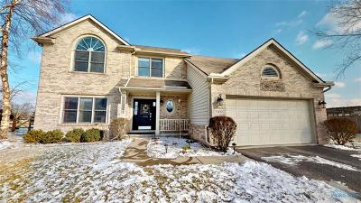 Perrysburg Single Family Home For Sale: 25430 Fox Hunt Drive