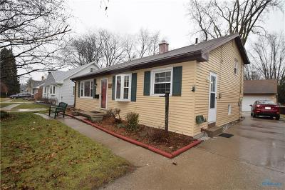 Toledo Single Family Home For Sale: 5916 E Heights Drive