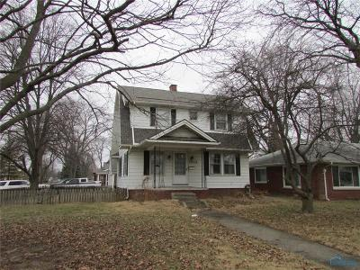 Maumee Single Family Home For Auction: 1203 River Road