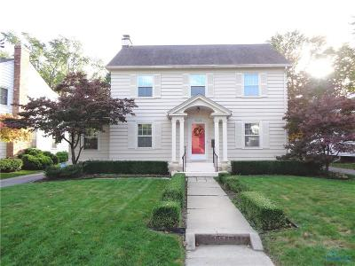 Toledo Single Family Home For Sale: 3439 Indian Road