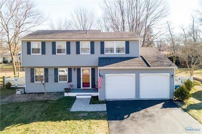 Sylvania OH Single Family Home Contingent: $184,900