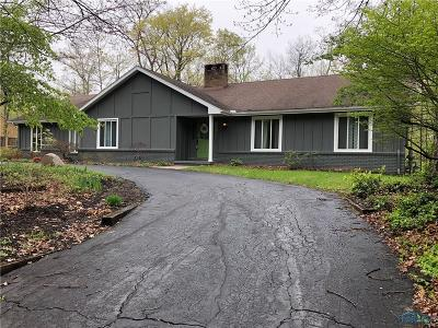 Perrysburg Single Family Home For Sale: 25879 W River Road