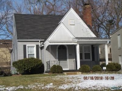 Toledo Single Family Home For Sale: 1464 Crestwood Road