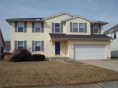 Perrysburg Single Family Home For Sale: 7060 Twin Lakes Road