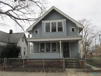 Toledo OH Single Family Home For Sale: $12,400