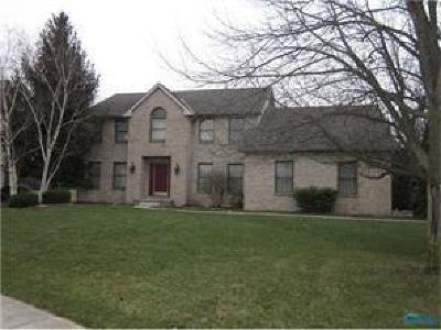 Perrysburg Single Family Home Contingent: 1240 Valley Bend Court