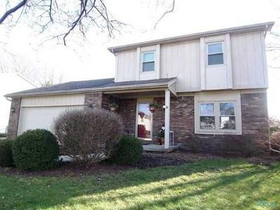 Maumee Single Family Home Contingent: 7025 Shadowcreek Drive