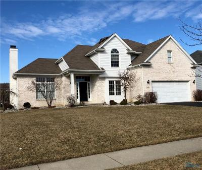 Maumee Single Family Home Contingent: 7658 Sioux Ridge Drive