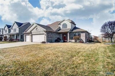Perrysburg Single Family Home Contingent: 26455 Carronade Drive