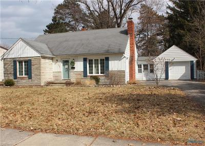 Maumee Single Family Home Contingent: 1156 Craig Road
