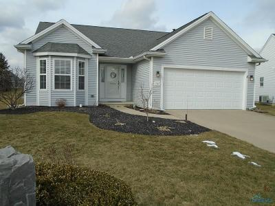 Maumee Single Family Home Contingent: 7367 Harpoon Court