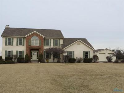 Perrysburg Single Family Home Contingent: 13636 Reitz Road