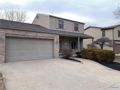Rossford Single Family Home Contingent: 546 Bruns Drive