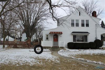 Maumee Single Family Home Contingent: 1100 Key Street