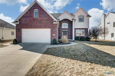 Perrysburg Single Family Home Contingent: 14649 Lake Meadows Drive