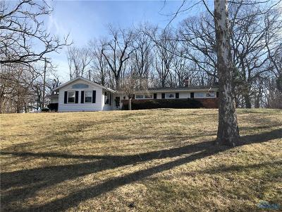 Perrysburg Single Family Home Contingent: 28410 W River Road