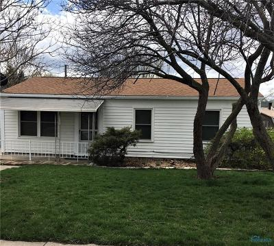 Toledo Single Family Home Contingent: 1508 Holmes Street