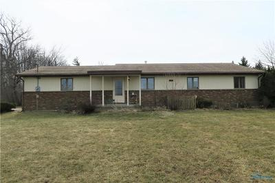 Perrysburg Single Family Home Contingent: 5193 Libbey Road