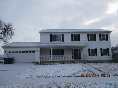 Toledo OH Single Family Home Contingent: $59,900