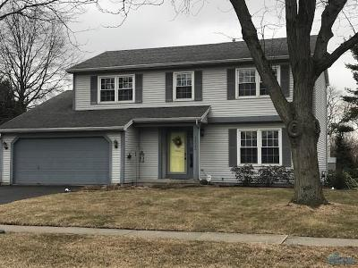 Sylvania OH Single Family Home For Sale: $219,900